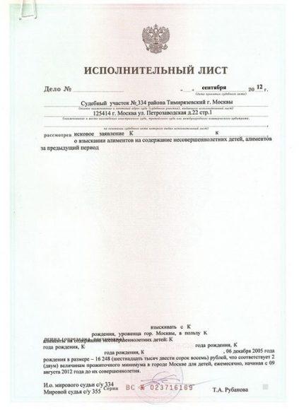 В какой срок должны исполнительный лист ли судебный пристав наложить арест на счет