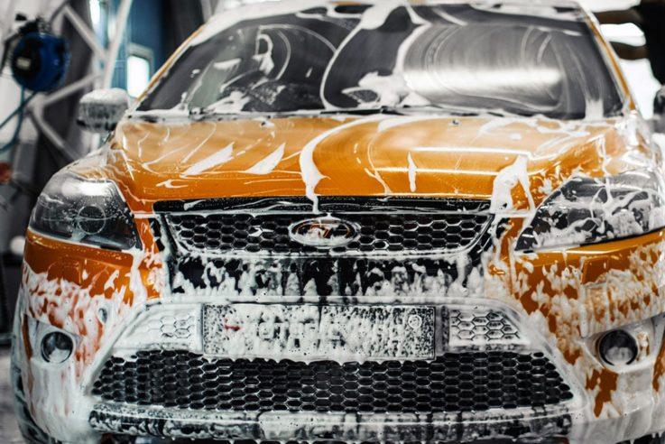 Мыть авто