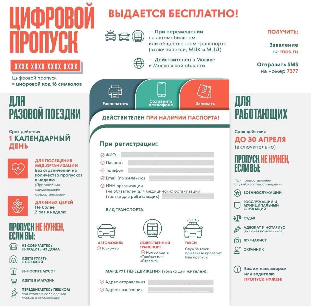 Как получить пропуск в Москве: три способа сделать цифровой пропуск