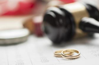 госпошлина на развод цена